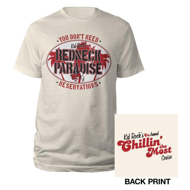 Kid Rock Redneck Paradise Cruise Tee
