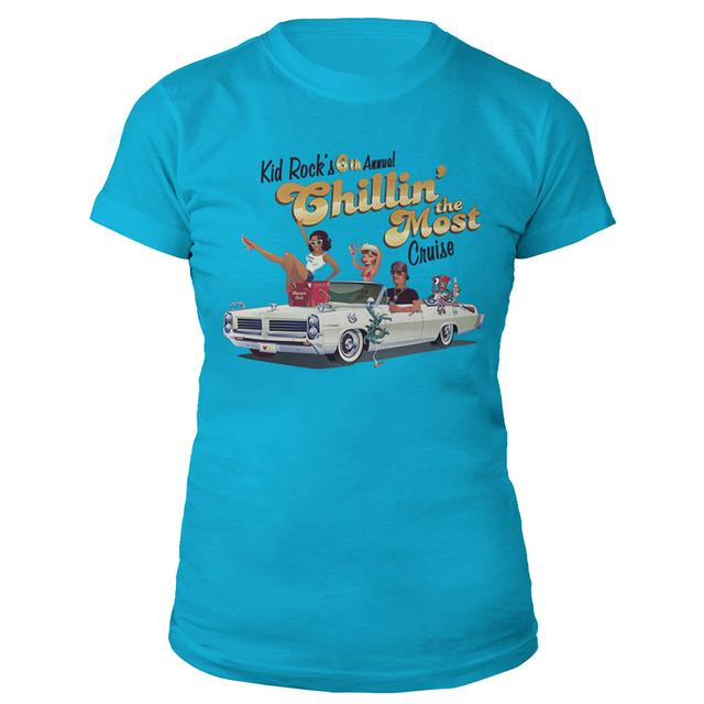 Kid Rock 6th Annual Chillin' the Most Cruise 2015 Ladies Tee