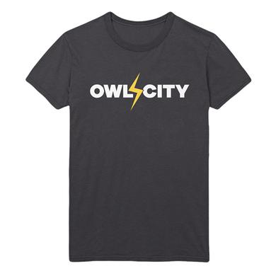Owl City Lightning Bolt Tee (Dark Grey)