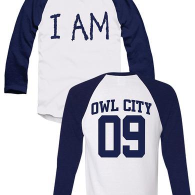 Owl City I Am (3/4 Raglan)
