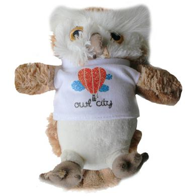 Owl City OC Stuffed Owl