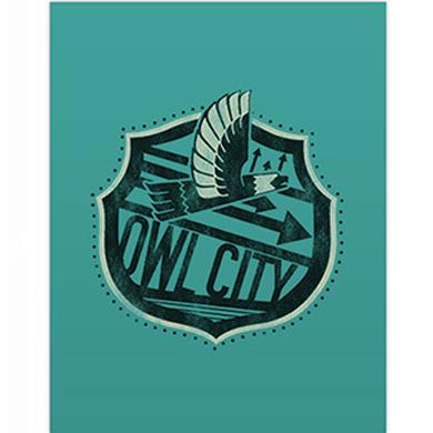 Owl City Big Wing Pocket Folder (Teal)