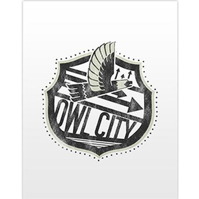 Owl City Big Wing Pocket Folder (White)
