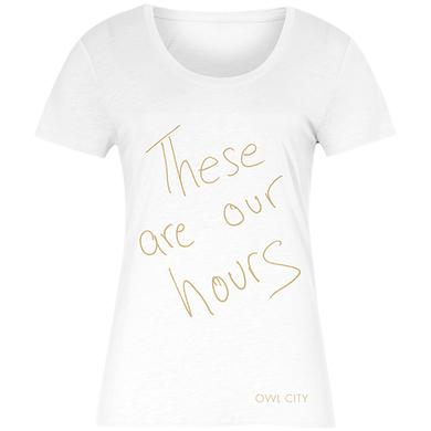 Owl City These Are Our Hours Tee