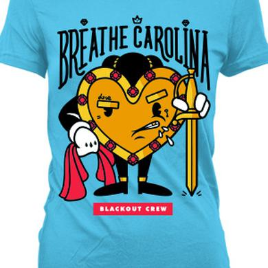 Breathe Carolina Matador GIrl's Tee (Turquoise)
