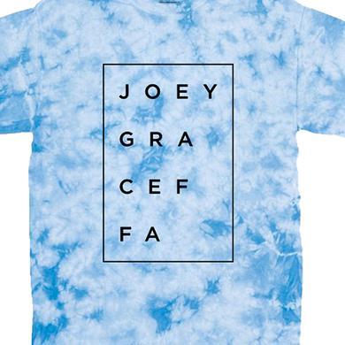 Joey Graceffa Box Tee (Crystal Blue)
