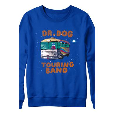 Dr. Dog Space Bus Crewneck (Blue)