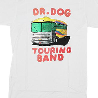 Dr. Dog Touring Bus Tee (White)