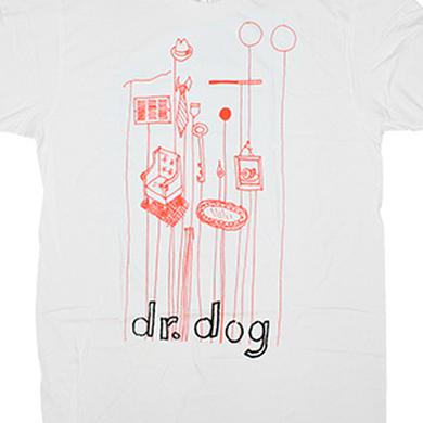 Dr. Dog Objects Tee (White)