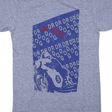 Dr. Dog Racer Tee (Heather Blue)