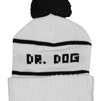 Dr. Dog Pom Beanie (White)