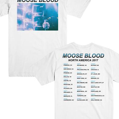 Moose Blood Kaleidoscope Tour Tee (White)