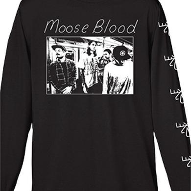 Moose Blood Subway Long Sleeve Tee (Black)