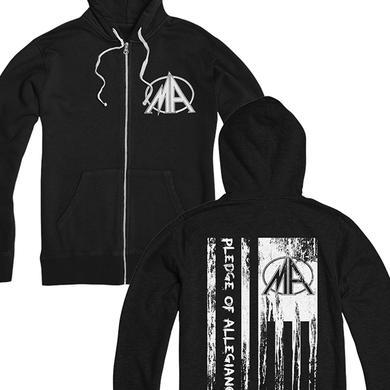 Metal Allegiance Pledge Of Allegiance Hoodie (Black)
