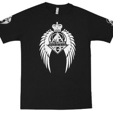 Sinister Guitar Picks/Metal Allegiance Hybrid Logo Tee