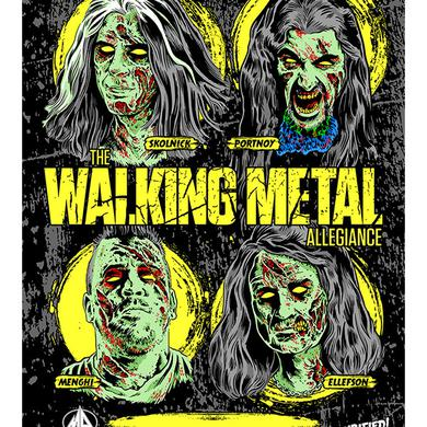 Metal Allegiance Zombie Signed Poster