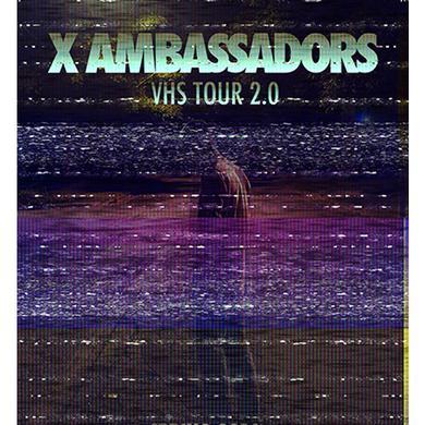 X Ambassadors 18x24 Spring 2016 Tour VIP Poster