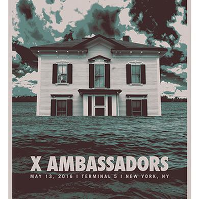 X Ambassadors Signed Terminal 5 Poster