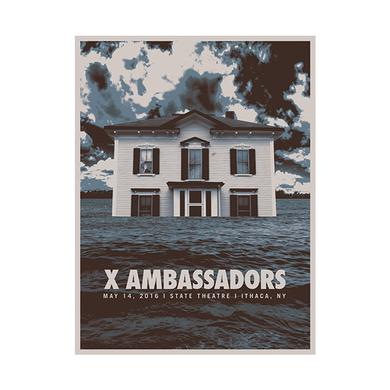 X Ambassadors Signed State Theatre Poster