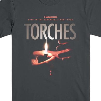X Ambassadors Torches Tee (Charcoal)
