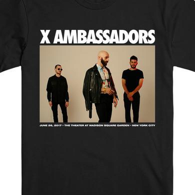 X Ambassadors MSG Limited Ed. Tee (Black)