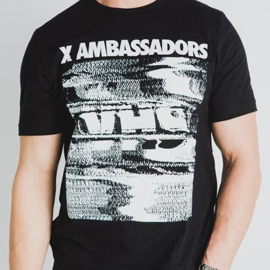 X Ambassadors VHS Tour Tee (Black)