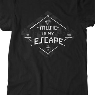 BryanStars Music Is My Escape Tee (Black)