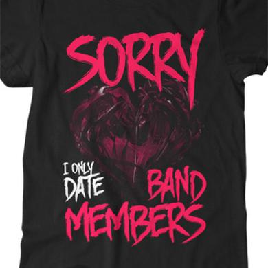 BryanStars I Only Date Band Members Tee (Black)