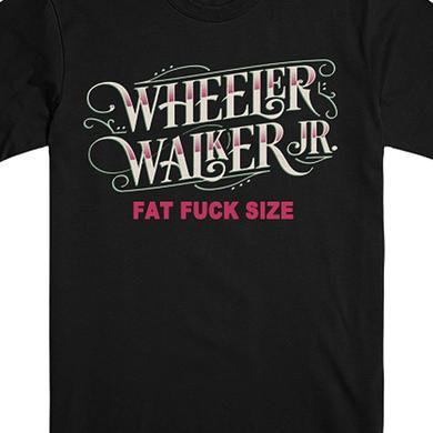 Wheeler Walker Jr Logo Fat Fuck Tee (Black)