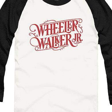 Wheeler Walker Jr Logo Raglan (White/Black)