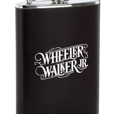 Wheeler Walker Jr Logo Flask