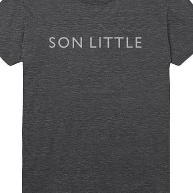 Son Little Text Tee (Heather Charcoal)