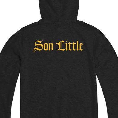 Son Little Old English Zip Hoodie (Black)