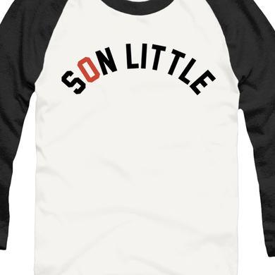 Son Little Raglan (White/Black)