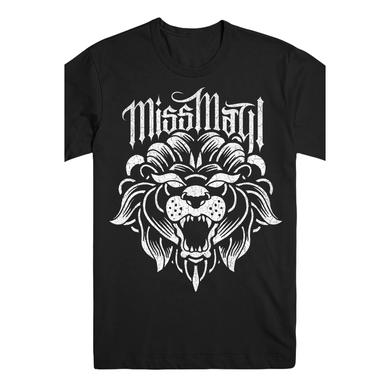 Miss May I Lion Tee (Black)