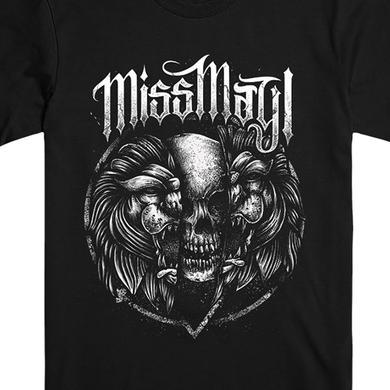 Miss May I Lions Skull Cracking Tee (Black)