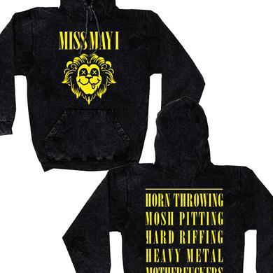 Miss May I Nirvana Pullover Hoodie (Black Mineral)