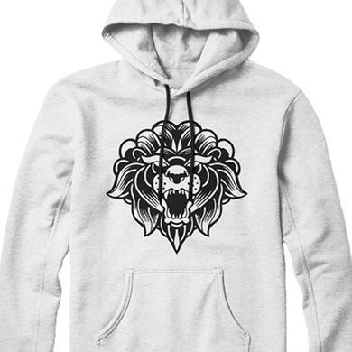Miss May I OG Lion Logo Pullover (White)