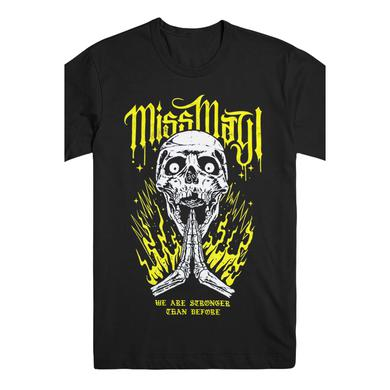 Miss May I Stronger Than Before Tee (Black)