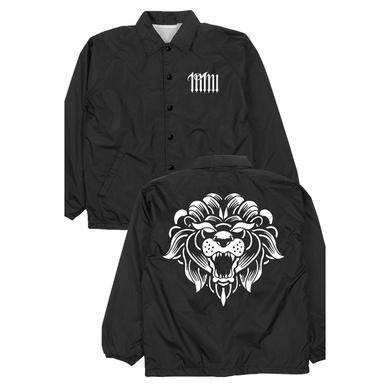 Miss May I Lion Windbreaker (Black)