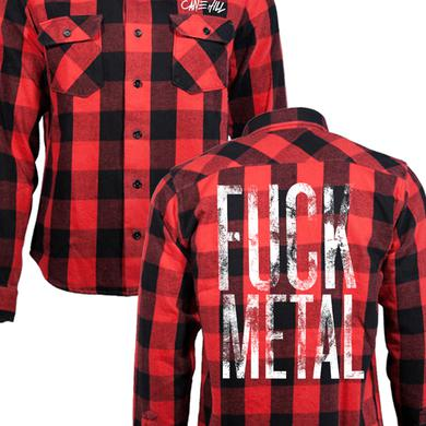 Cane Hill Fuck Metal Flannel