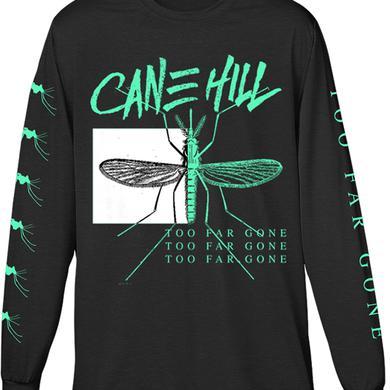 Cane Hill Too Far Gone Longsleeve Tee (Green on Black)