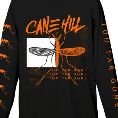 Cane Hill Too Far Gone Longsleeve Tee (Orange on Black)
