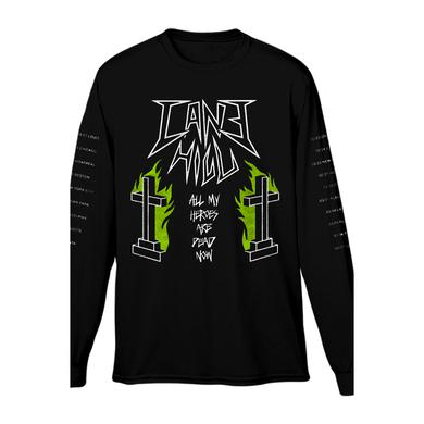 Cane Hill Heroes Long Sleeve Tee (Black)