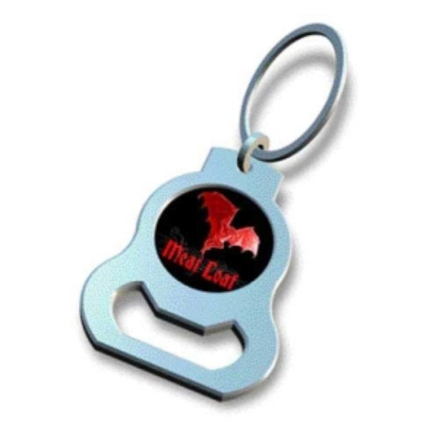 Meat Loaf Bottle Opener Keychain