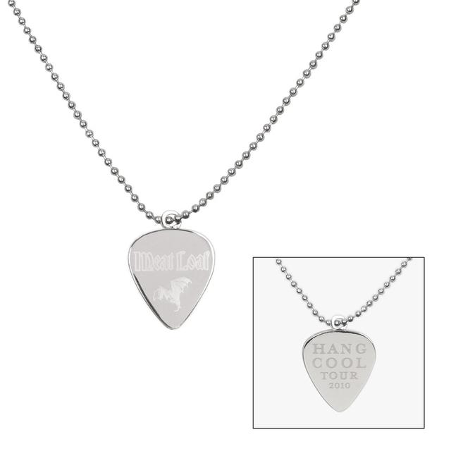 Meat Loaf Hand Cool Pick Necklace