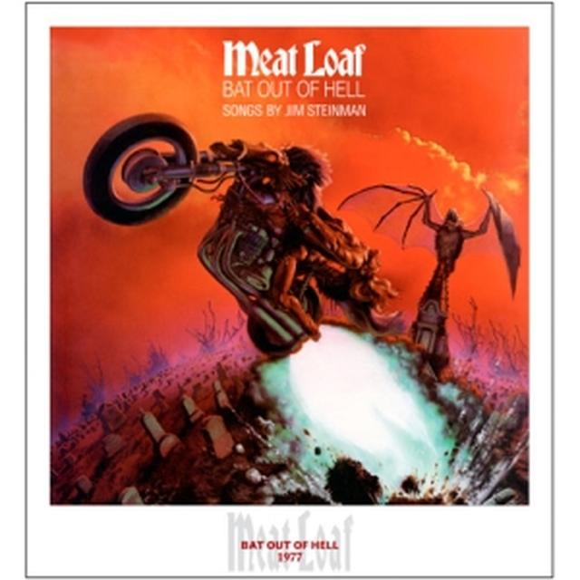 Meat Loaf Bat Out Of Hell Lithographic Print - Limited Collector's Edition 1/250