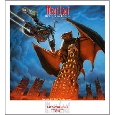 Meat Loaf Bat Out Of Hell II Lithographic Print - Limited Collector's Edition 1/250