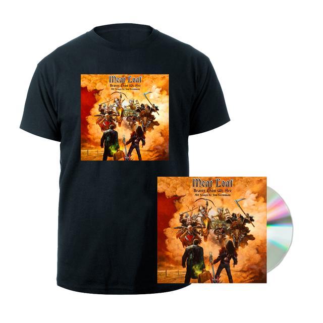 Meat Loaf Braver Than We Are CD + T-shirt Bundle