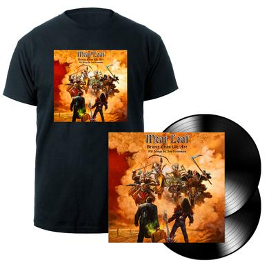 Meat Loaf Braver Than We Are 2LP + T-shirt Bundle